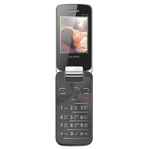 Телефон Qumo Push 246 Clamshell