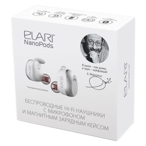 Наушники Elari NanoPods