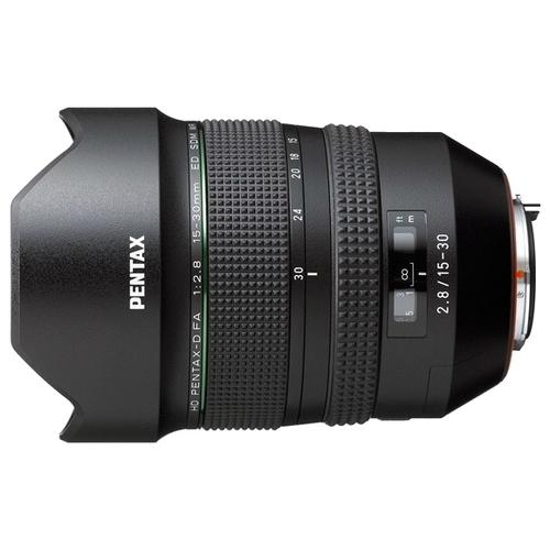 Объектив Pentax D FA 15-30mm f/2.8 ED SDM WR