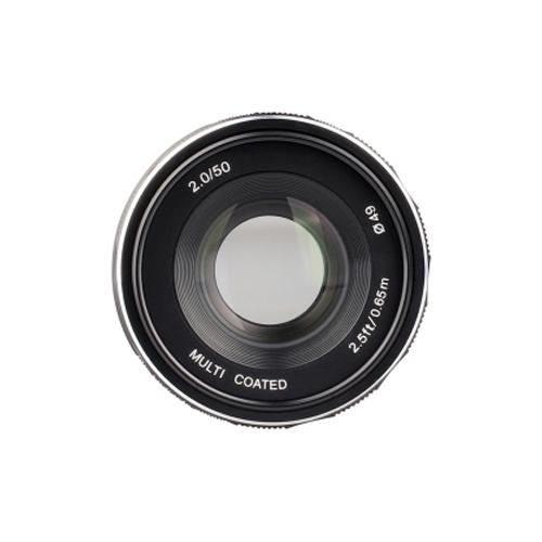 Объектив Meike 50mm f/2 Micro 4/3