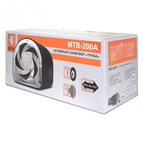 Автомобильный сабвуфер Mystery MTB 200A