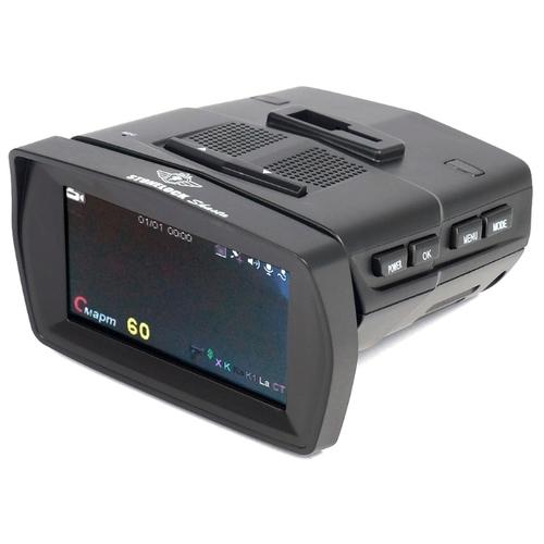 Видеорегистратор с радар-детектором Stonelock Shasta, 2 камеры, GPS