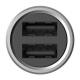 Автомобильная зарядка Xiaomi Mi Dual USB (CZCDQ01ZM)