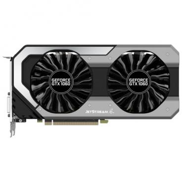 Видеокарта Palit GeForce GTX 1060 1506MHz PCI-E 3.0 3072MB 8000MHz 192 bit DVI HDMI HDCP JetStream