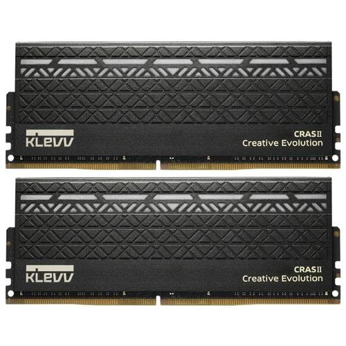 Оперативная память 8 ГБ 2 шт. KLEVV KM4Z8GX2N-2666-15-15-15-35