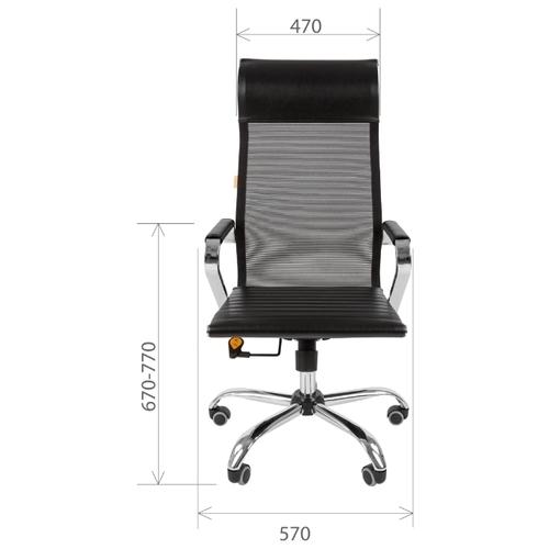 Компьютерное кресло Chairman 701 сетка для руководителя