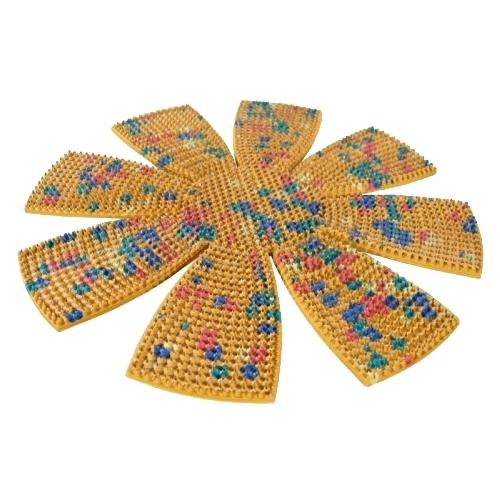 Ляпко коврик Ромашка, шаг игл 5 мм