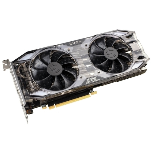 Видеокарта EVGA GeForce RTX 2080 Ti 1635MHz PCI-E 3.0 11264MB 14000MHz 352 bit HDMI HDCP XC GAMING