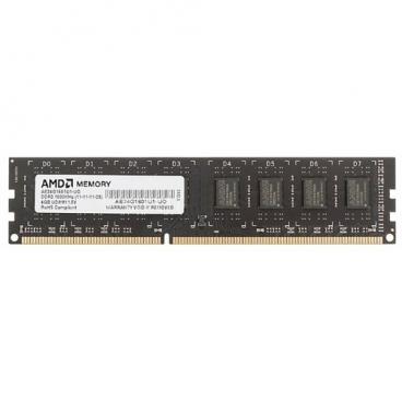 Оперативная память 4 ГБ 1 шт. AMD AE34G1601U1-UO