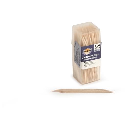 Aviora зубочистки Бамбуковые