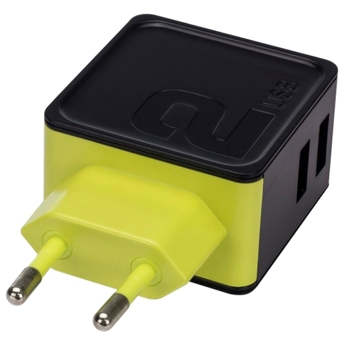 Сетевая зарядка Rock Sugar Travel Charger 2 USB