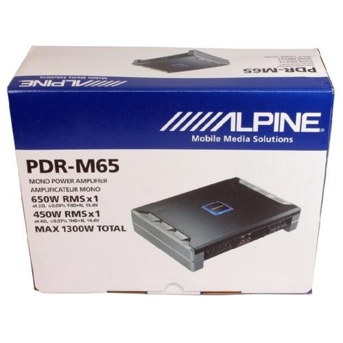 Автомобильный усилитель Alpine PDR-M65