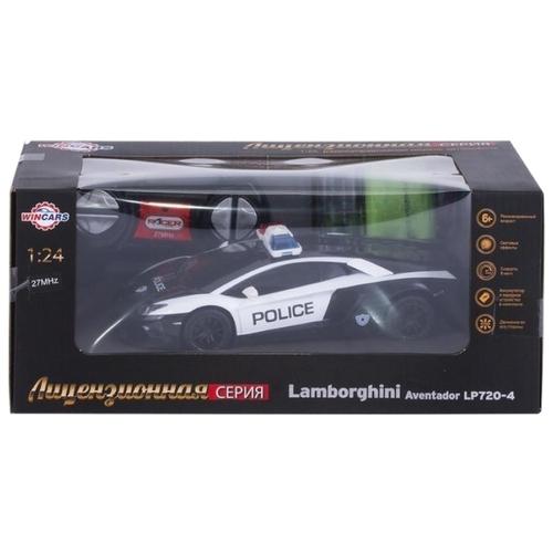 Легковой автомобиль Wincars Lamborghini Aventador LP720-4 Police (DS-2010) 1:24