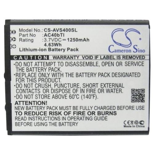 Аккумулятор Cameron Sino CS-AVS400SL для Archos 40b Titanium