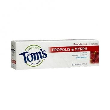 Зубная паста Tom's of Maine Propolis & Myrrh Корица и мята