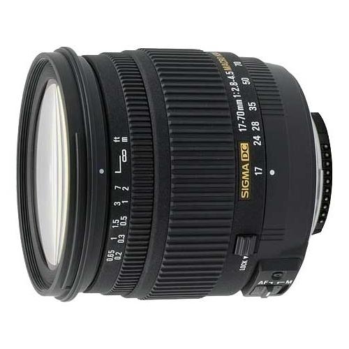 Объектив Sigma AF 17-70mm f/2.8-4.5 DC MACRO HSM Nikon F