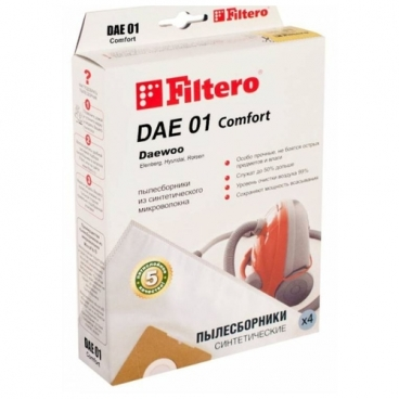 Filtero Мешки-пылесборники DAE 01 Comfort