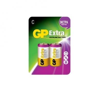 Батарейка GP Extra Alkaline C