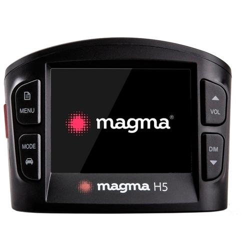 Видеорегистратор с радар-детектором Magma H5, GPS