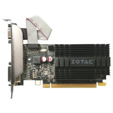 Видеокарта ZOTAC GeForce GT 710 954Mhz PCI-E 2.0 2048Mb 1600Mhz 64 bit DVI HDMI HDCP