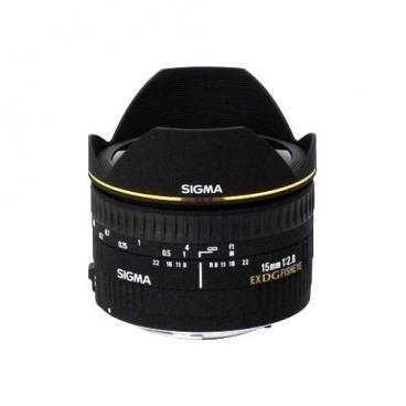 """Объектив Sigma AF 15mm f/2.8 EX DG DIAGONAL FISHEYE Nikon F"""""""