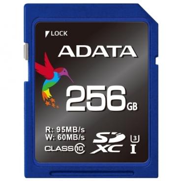 Карта памяти ADATA Premier Pro SDXC Class 10 UHS-I U3
