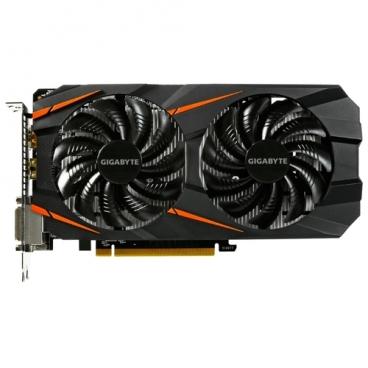 Видеокарта GIGABYTE GeForce GTX 1060 1582MHz PCI-E 3.0 6144MB 8008MHz 192 bit 2xDVI HDMI HDCP