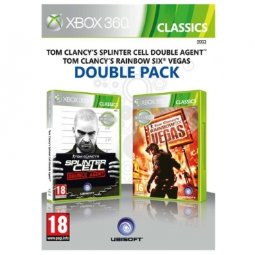 Tom Clancy's Splinter Cell Double Agent & Tom Clancy's Rainbow Six Vegas Double Pack