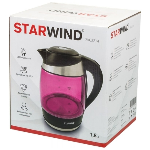 Чайник STARWIND SKG2212/2213/2214/2215/2216/2217/2218/2219