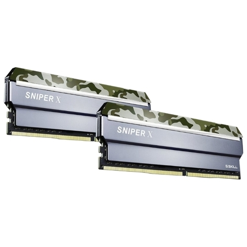 Оперативная память 8 ГБ 2 шт. G.SKILL F4-3200C16D-16GSXFB