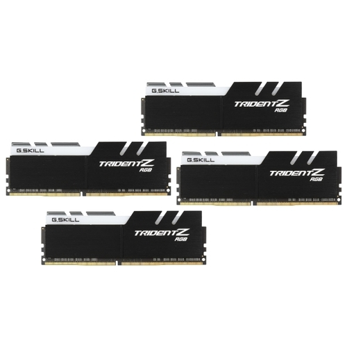Оперативная память 8 ГБ 4 шт. G.SKILL F4-3200C14Q-32GTZR