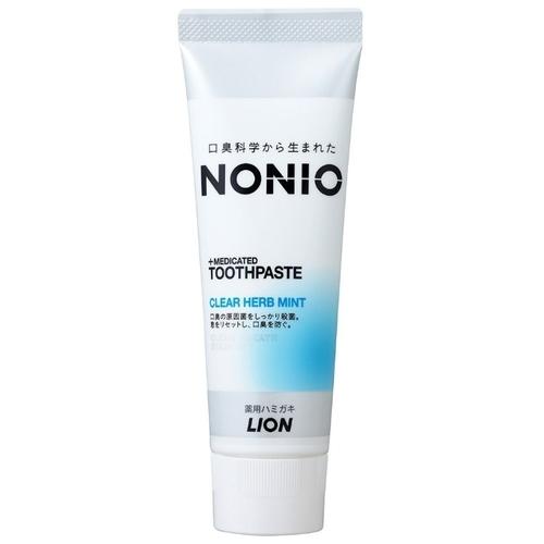 Зубная паста Lion NONIO+Medicated, травяная мята