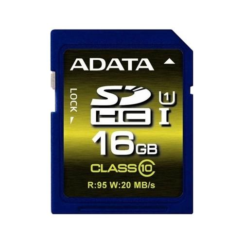 Карта памяти ADATA Premier Pro SDHC Class 10 UHS-I U1