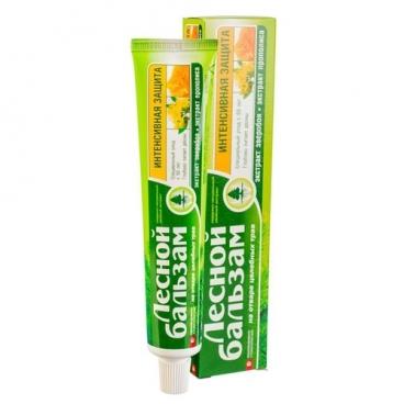 Зубная паста Лесной бальзам Интенсивная защита 50+, прополис и зверобой