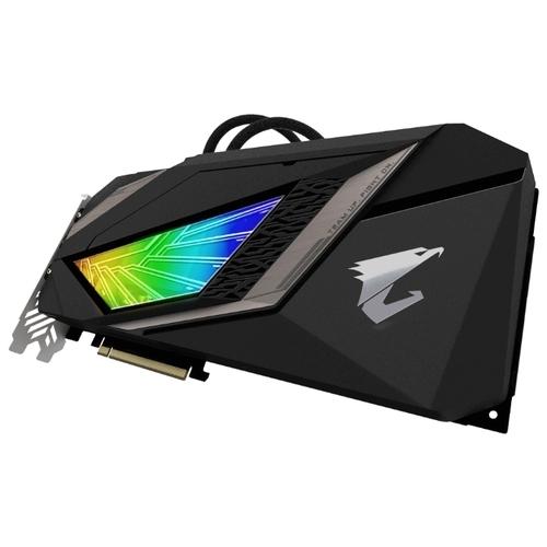 Видеокарта GIGABYTE GeForce RTX 2080 Ti 1770MHz PCI-E 3.0 11264MB 14140MHz 352 bit 3xHDMI HDCP AORUS XTREME WATERFORCE