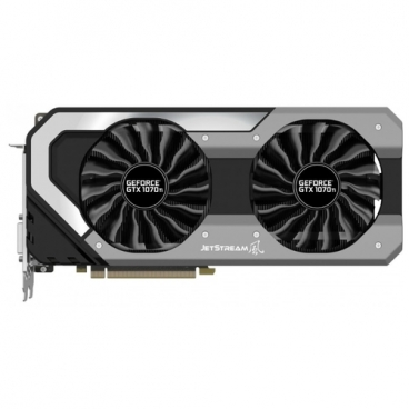 Видеокарта Palit GeForce GTX 1070 Ti 1607MHz PCI-E 3.0 8192MB 8000MHz 256 bit DVI HDMI HDCP Super JetStream