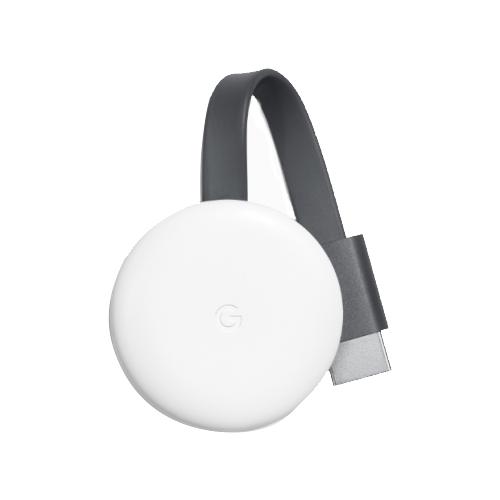 Медиаплеер Google Chromecast 2018 белый