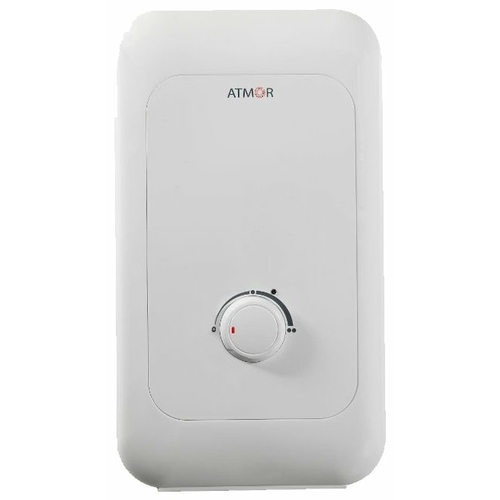 Проточный электрический водонагреватель Atmor ENJOY 100 5 душ кран