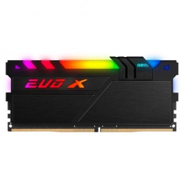 Оперативная память 16 ГБ 1 шт. GeIL EVO X II GEXSB416GB3200C16ASC