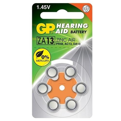 Батарейка GP Hearing Aid ZA13