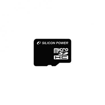 Карта памяти Silicon Power microSDHC Class 4
