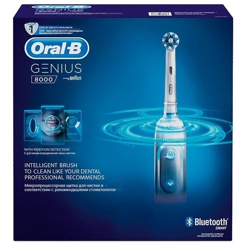 Электрическая зубная щетка Oral-B Genius 8000