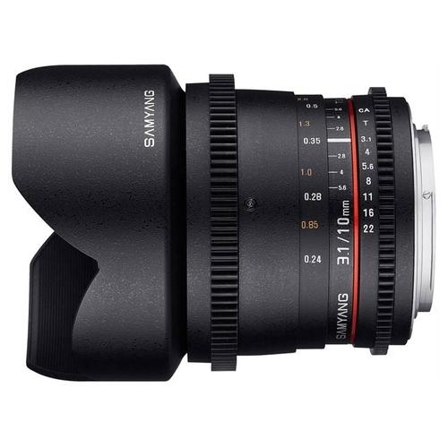 Объектив Samyang 10mm T3.1 ED AS NCS CS VDSLR Minolta A