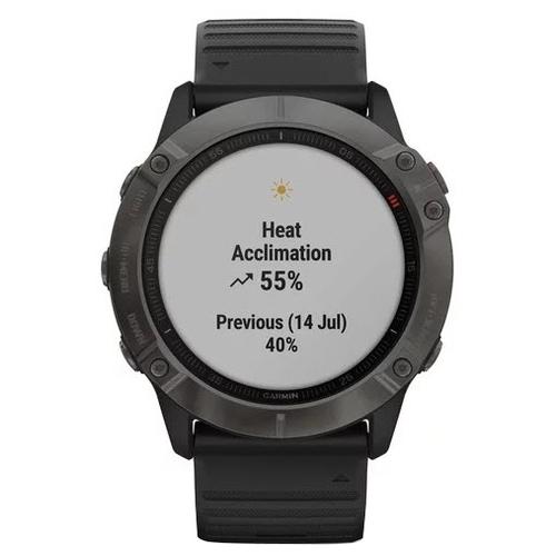 Часы Garmin Fenix 6X Sapphire DLC