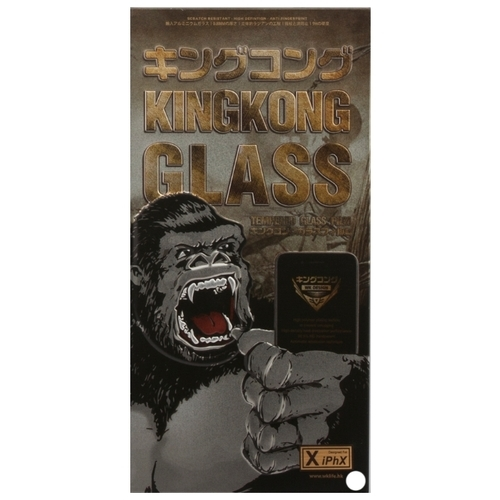 Защитное стекло WK Kingkong 3D Full Cover Curved Edge Tempered Glass для Apple iPhone X