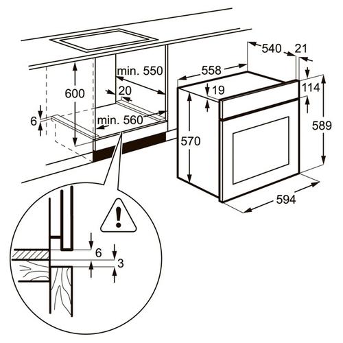 Электрический духовой шкаф Zanussi OPZB 4200 Z