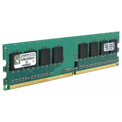 Оперативная память 512 МБ 1 шт. Kingston KVR667D2N5/512