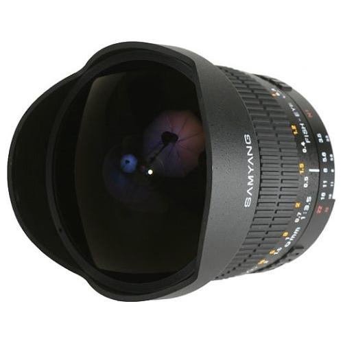 "Объектив Samyang 8mm f/3.5 AS IF MC Fish-eye CS Minolta A"""
