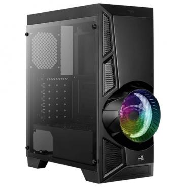 Компьютерный корпус AeroCool AeroEngine RGB TG Black