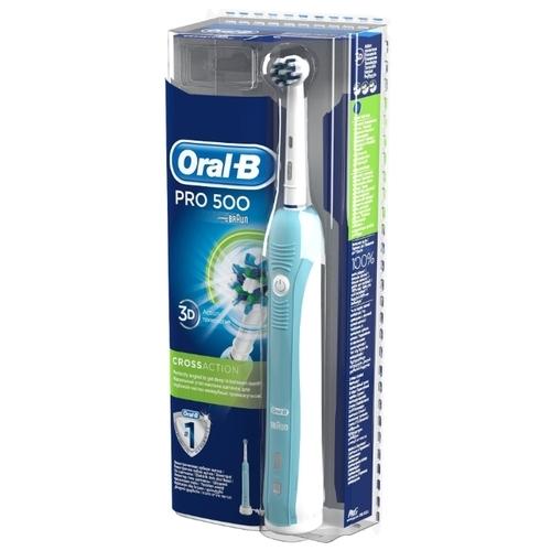 Электрическая зубная щетка Oral-B Pro 500 CrossAction